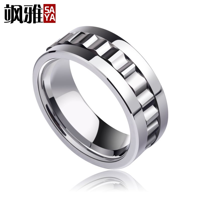 2017 New Design 8mm Width Mans Tungsten Rings High Polished with