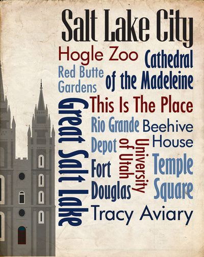 Sights of Salt Lake City