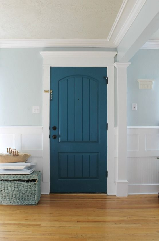 Choosing A Paint Color Why Must It Be So Frustrating Light Blue Grey Paint Gray Living Room Paint Colors Blue Accent Walls