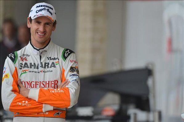 Adrian Sutil Sahara Force India