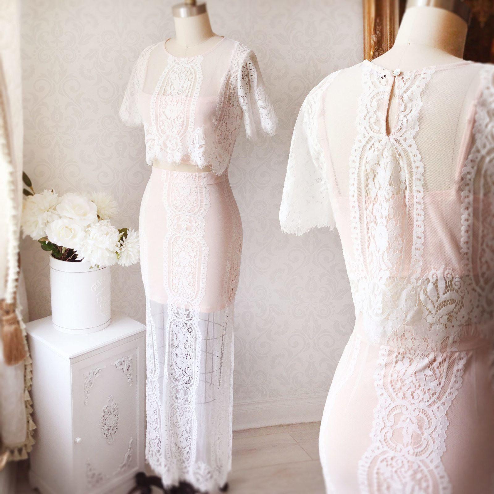 Look du jour boutique top vadania jupe samin vestidos largos