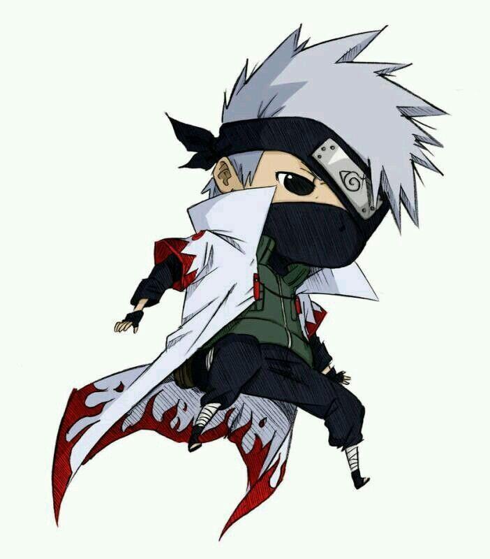 Kakashi Chibi Personagens Chibi Personagens De Anime Personagens Naruto Shippuden