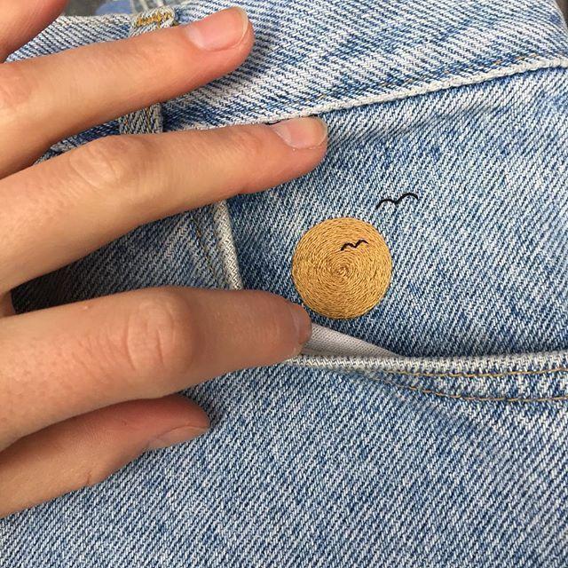YO NY! 9/10 de la collection # tinycupxantoinette reste au sol avec Antoi …   – Stickerei