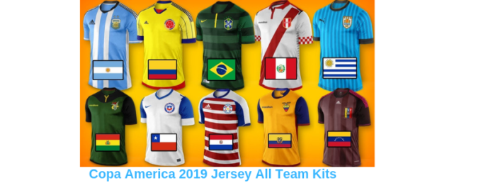 Copa America 2019 Jersey All Teams Jersey Kits All