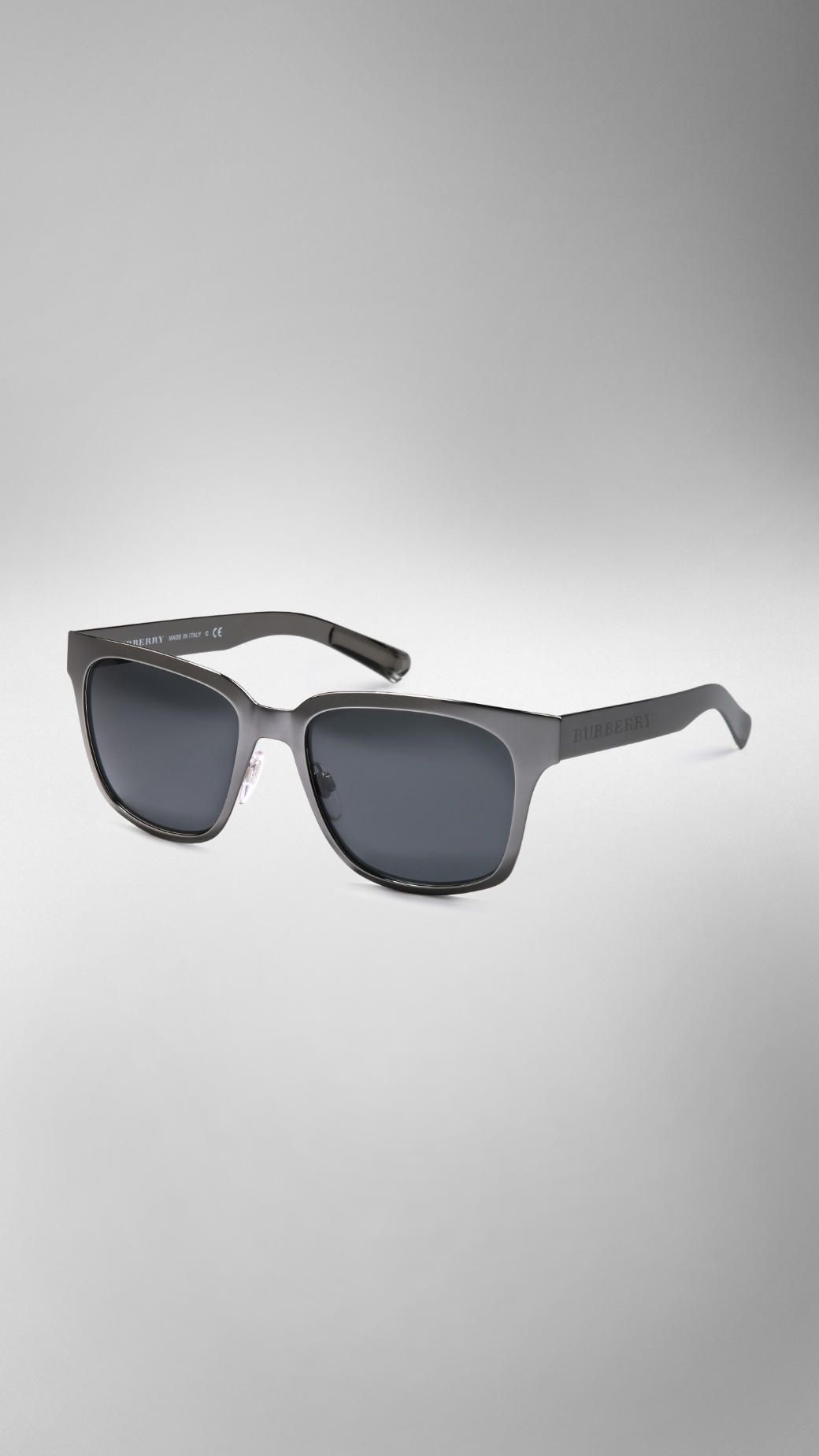 7aa4527a063c Splash Sunglasses in a Metallic Finish