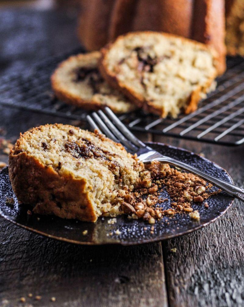 Pecan Toffee Coffee Cake