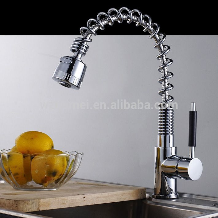 UPC spring pull out kitchen faucet | Baterie | Pinterest | Kitchen ...