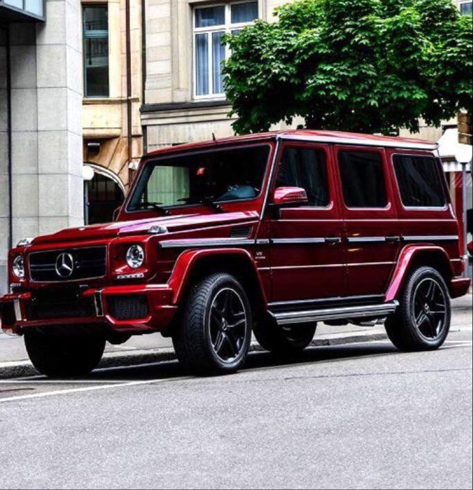 Wine Red Mercedes Mercedes Mercedes Benz G Class Suv