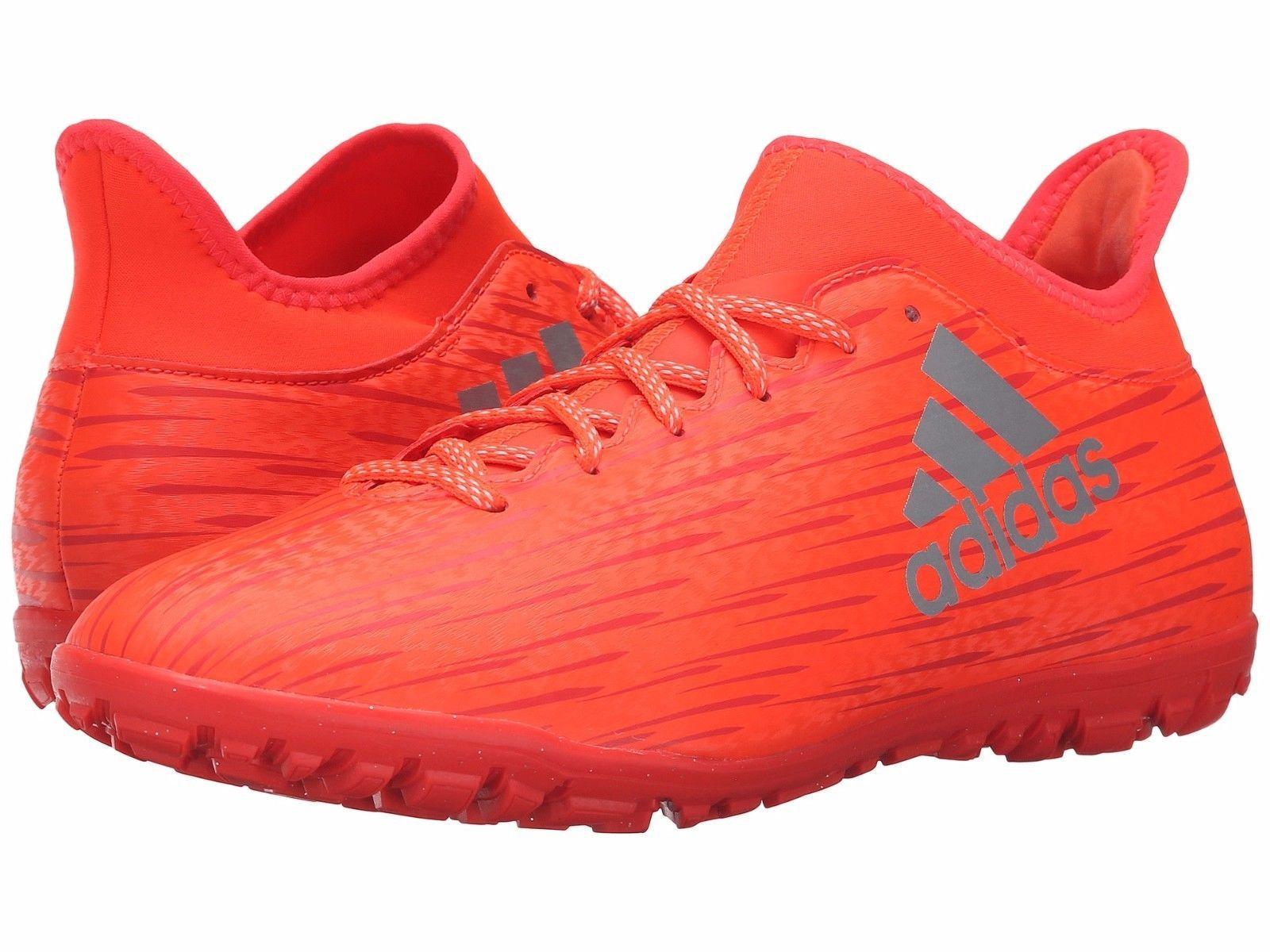 Adidas X 16.3 TF NEW 2016 Soccer TURF Shoes MENs Orange