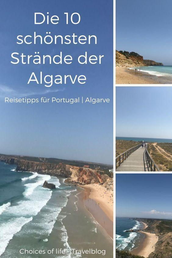 Die 10 schönsten Strände der Algarve #traveltoportugal