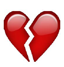 Les Emoticones Au Format Png Grand Format Emojis De Iphone Emoji Corazon Roto Emoticones De Whatsapp