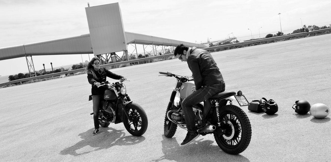 Moto Guzzi v7 Stone modificata modify michelangelo Grifa artist