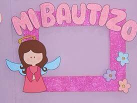 Bautizo angelita cuadro