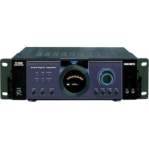 Details about 300W DJ PROFESSIONAL HOME AUDIO DIGITAL STEREO 4