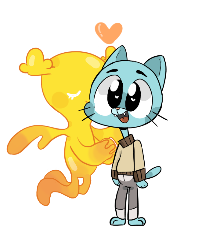 Amazing World Of Gumbo: Gumball And Penny - Buscar Con Google
