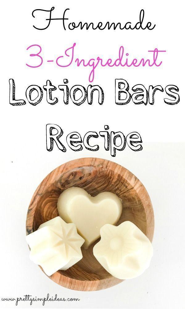 Homemade Lotion Bars Recipe