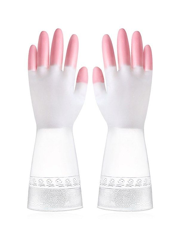 Household Cleaning Waterproof Kitchen Gloves Ad Paid