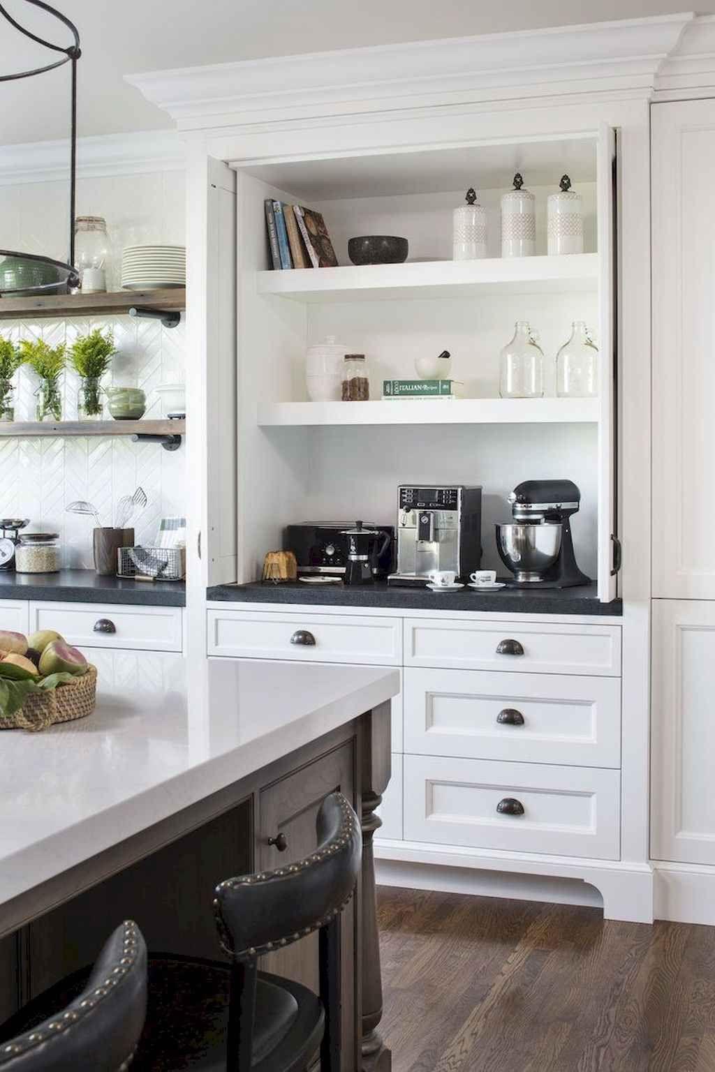 65 White Kitchen Cabinet Decor Ideas images