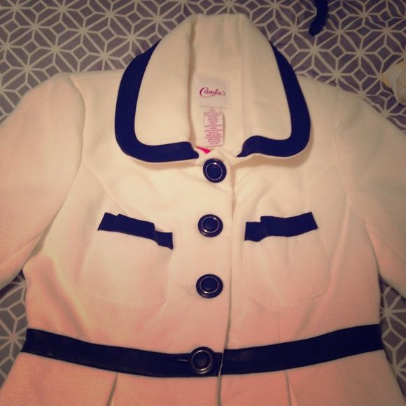 Winter Coat Got this as a gift but it just sat in my closet! Any questions, feel free to ask. :) Open to offers! Candie's Jackets & Coats Pea Coats