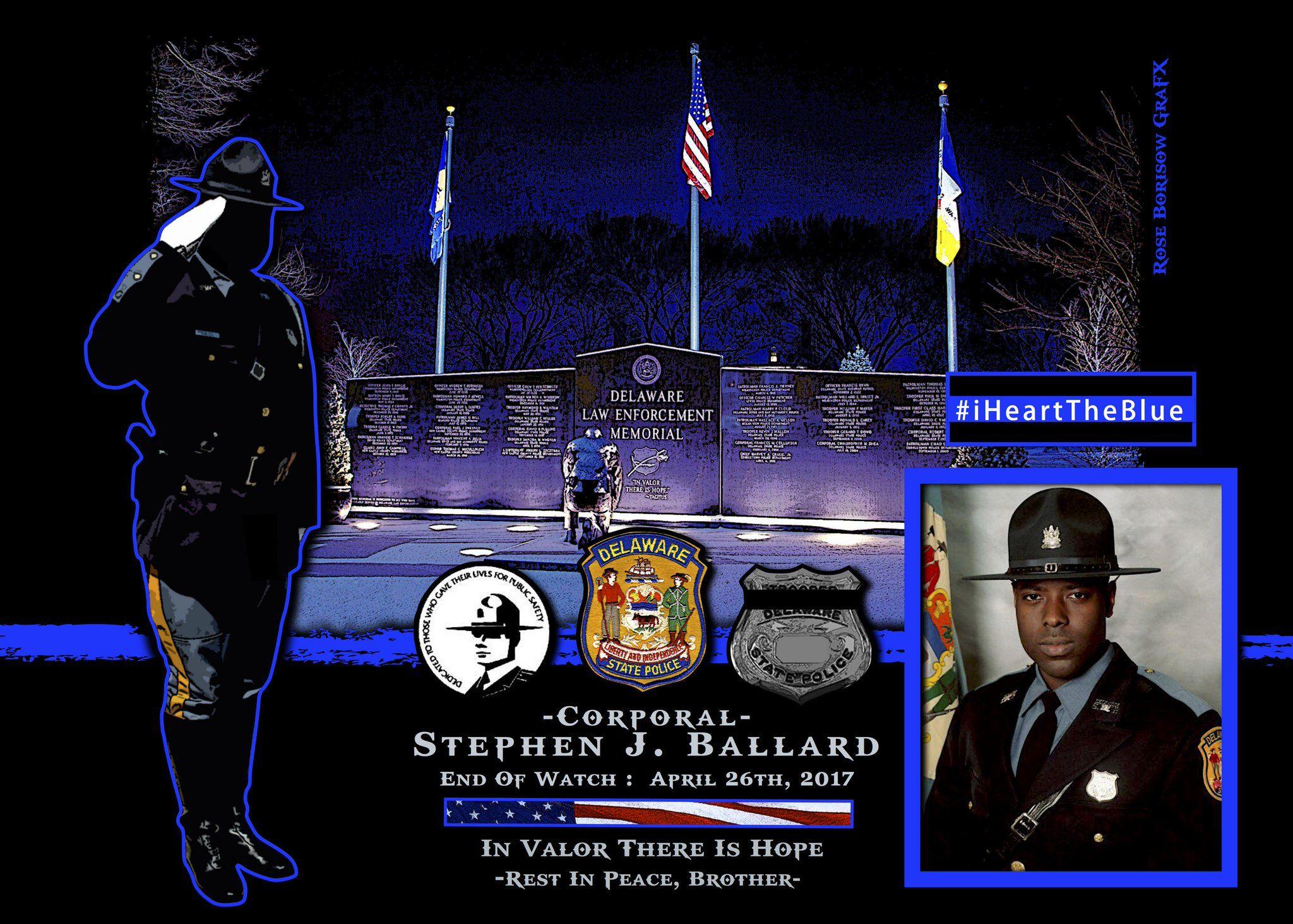 Stephen Ballard Memoriam, Police, State police