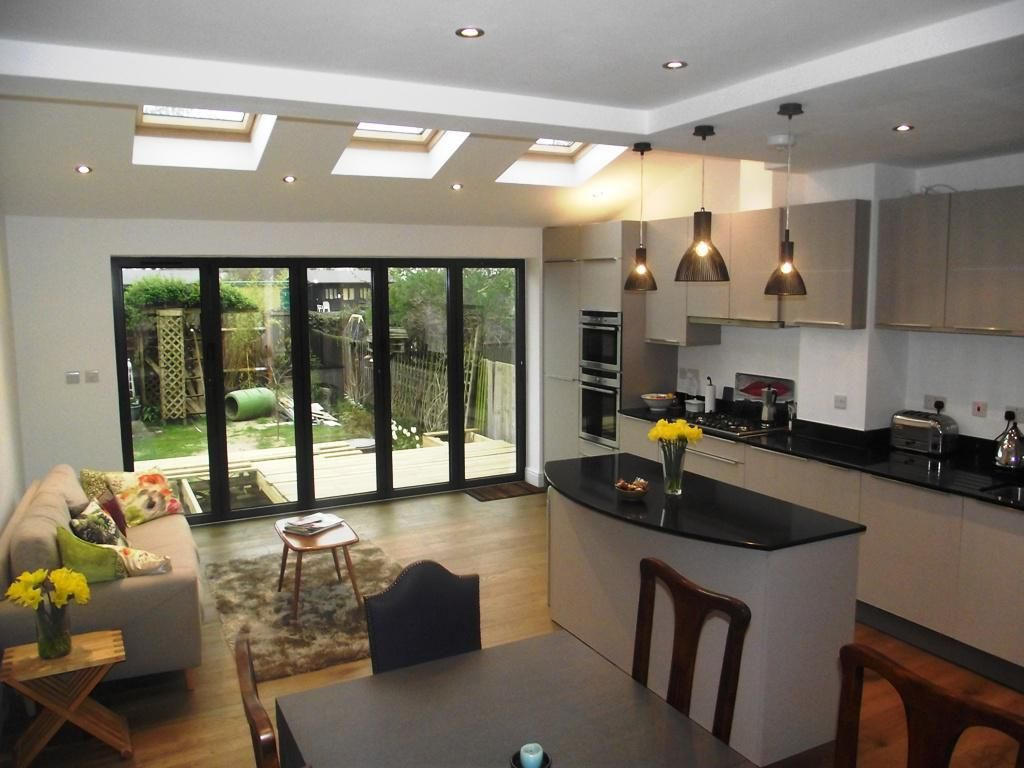 Pin By Julie Martin On House Open Plan Kitchen Living Room Kitchen Extension Open Plan Kitchen Dining