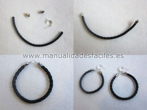 ARETES DE CUERO Jewerly and Bling Crafts Pinterest