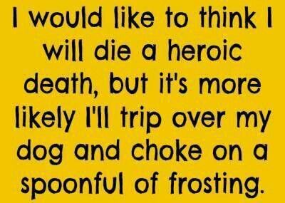 So ME! I Love my dogs & I love frosting ..... so yeah, its possible!
