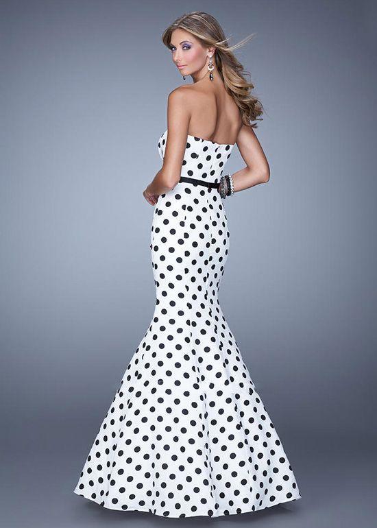34d334e8da16e Pink Polka Dot Prom Dress | fashion | Mermaid prom dresses, Prom ...