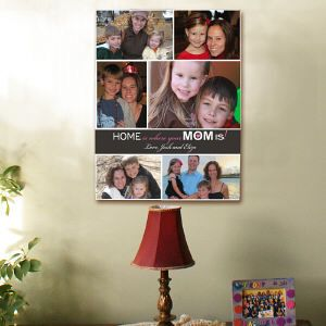Personalized Photo Collage Wall Canvas #Photo #PhotGift #PersonalizedGifts #Gifts #PersonalizedPhotoGifts #GiftsForYouNow