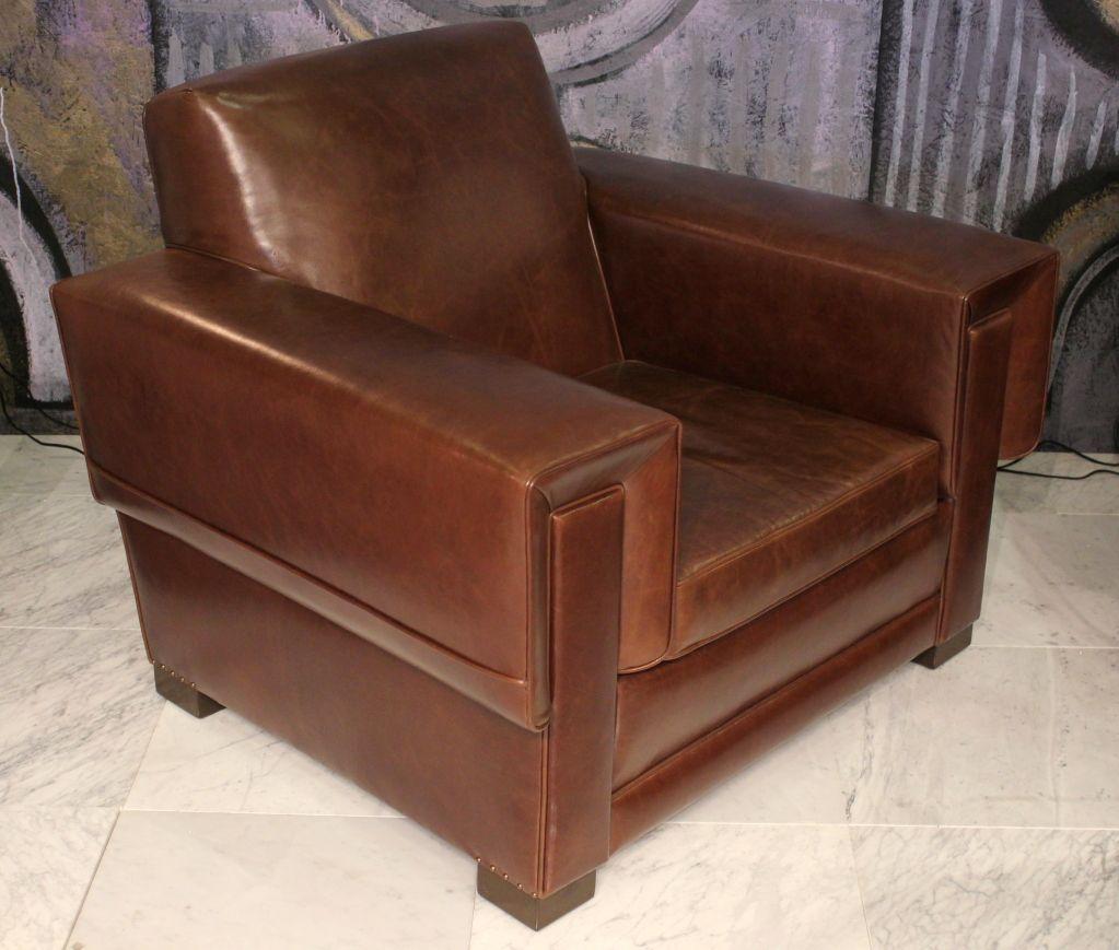 Pair of Arturo Pani Club Chairs 2