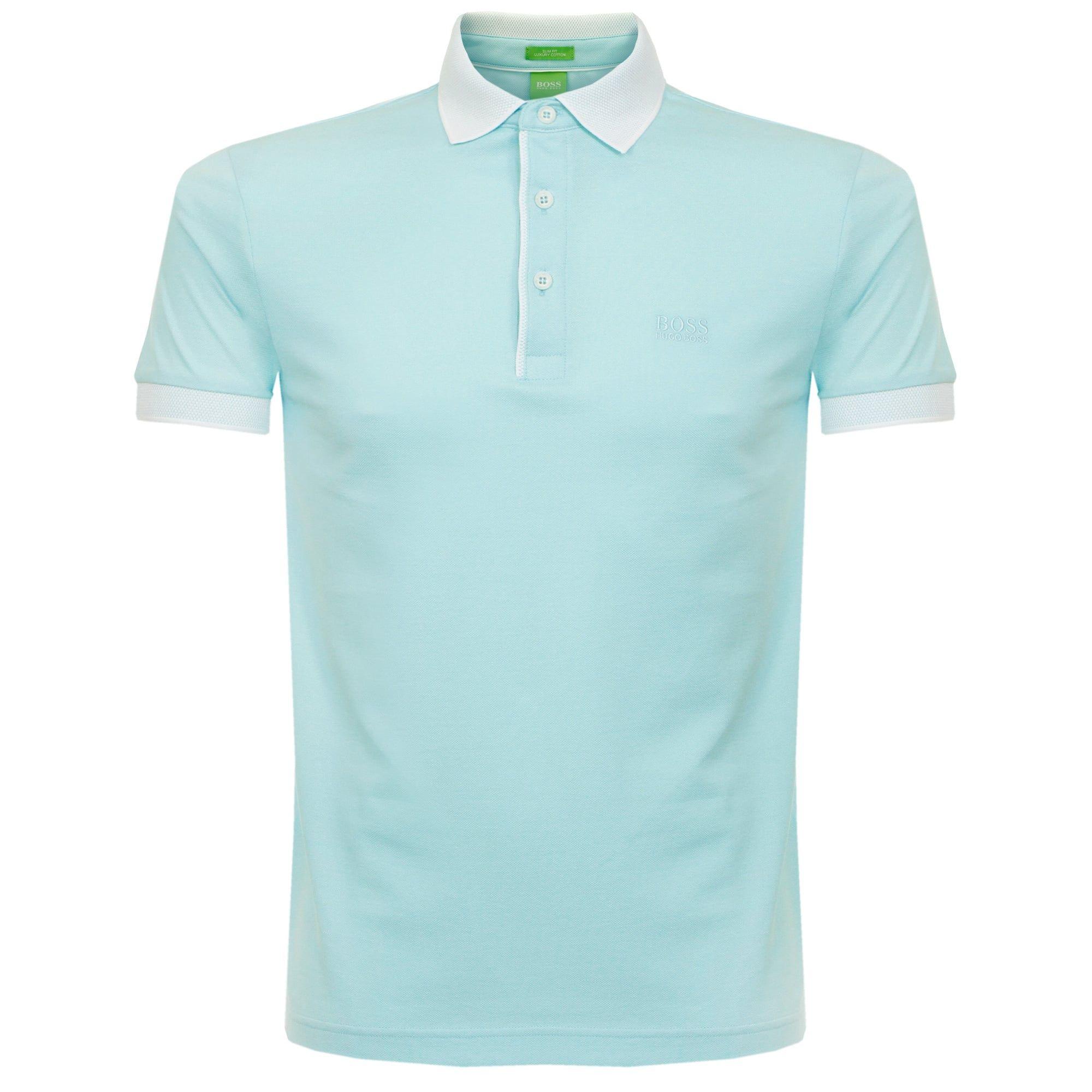 cf22ebe88 BOSS Green Hugo Boss C-Genova Blue Polo Shirt 50330920