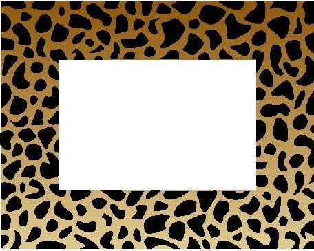 dierenprint u003e kader randen en patronen printables pinterest rh pinterest com cheetah print border clip art