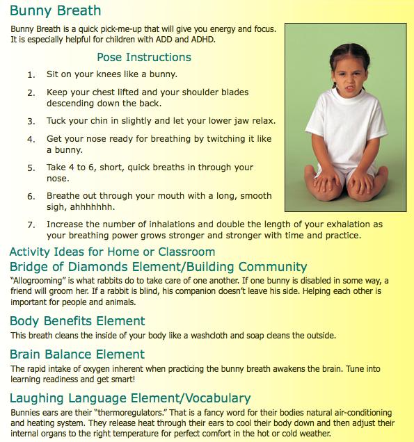 Posturas de Yoga para Niños
