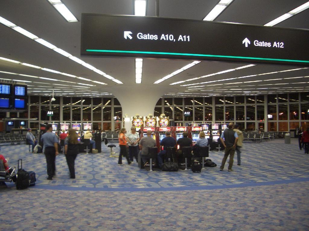Airport Terminal Work Stuff Las Vegas Airport Vegas