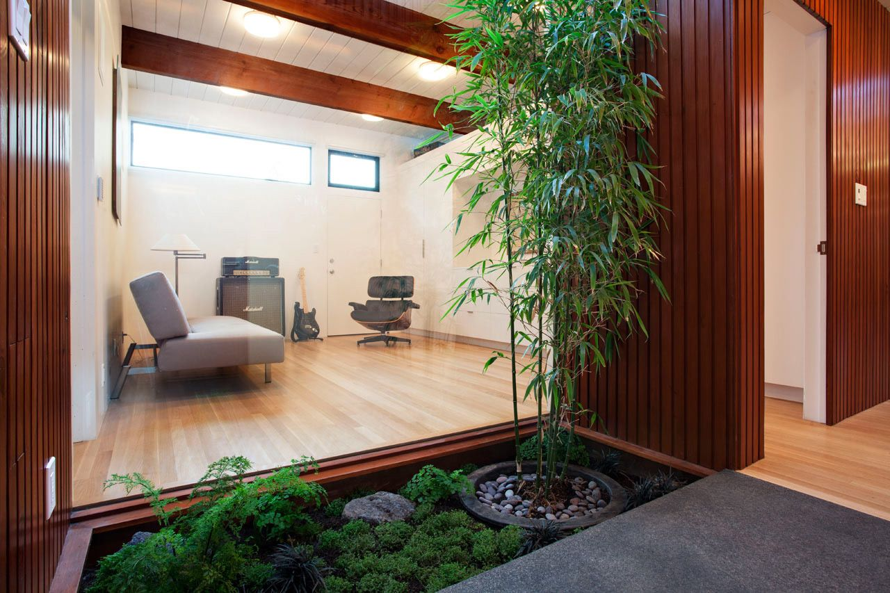interior courtyard - modern garden - natural design | interior