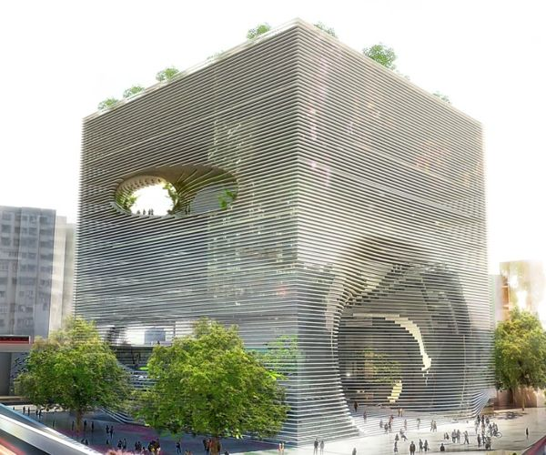 TEK Cube Building in Taipei, Taiwan  Amazing example of