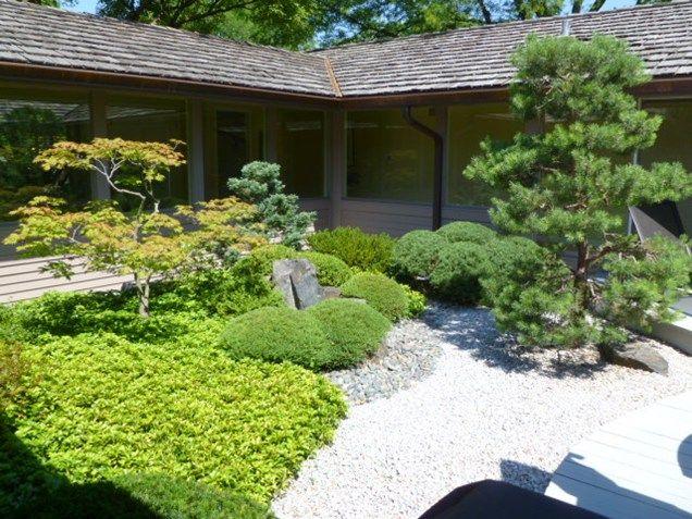 Elegant Zen, Japanese, Garden, Plants Asian Landscaping Zoen Sekkei Sha +  Associates Lake