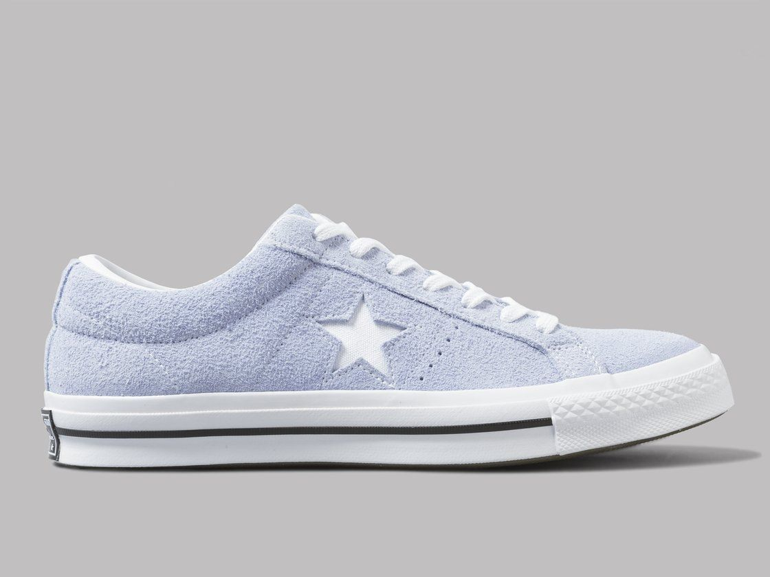 ONE STAR - OX PREMIUM SUEDE - Sneaker low - blue chill/white/black NryGW5ZppX