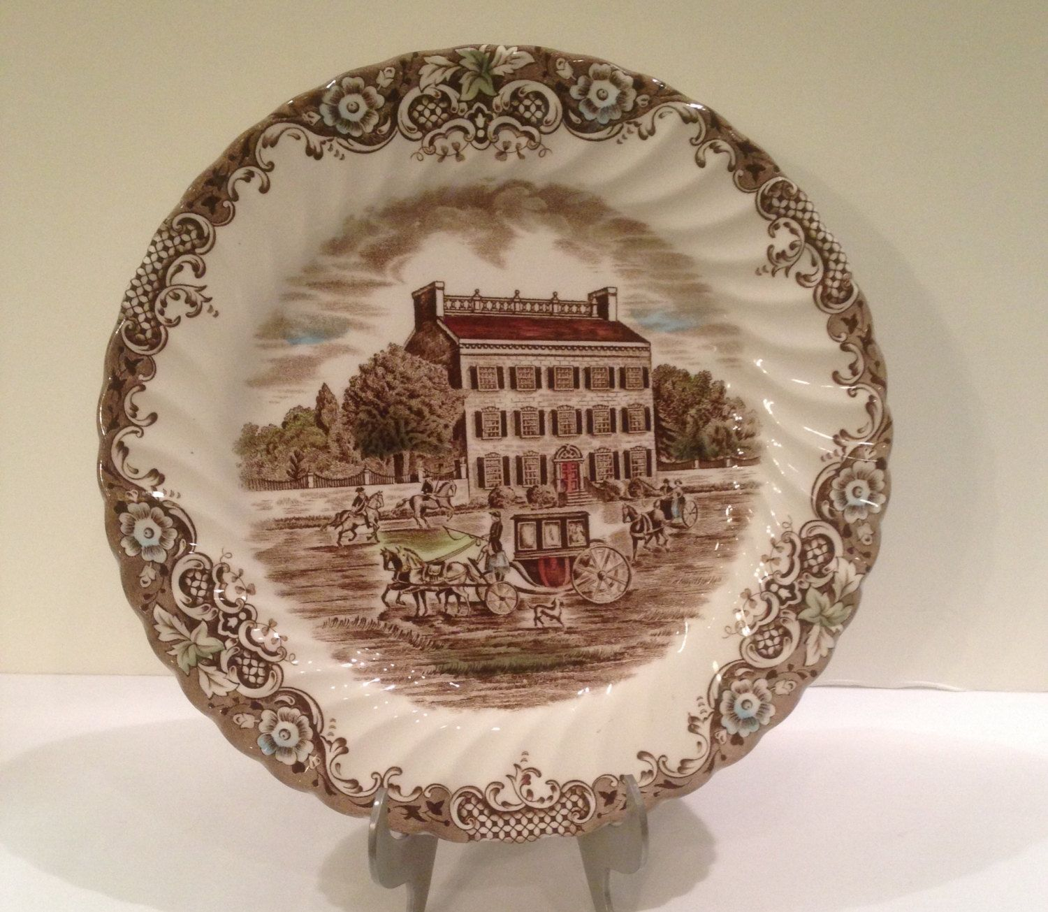 Johnson Brothers Heritage l Town House Dinner Plate, Staffordshire ...