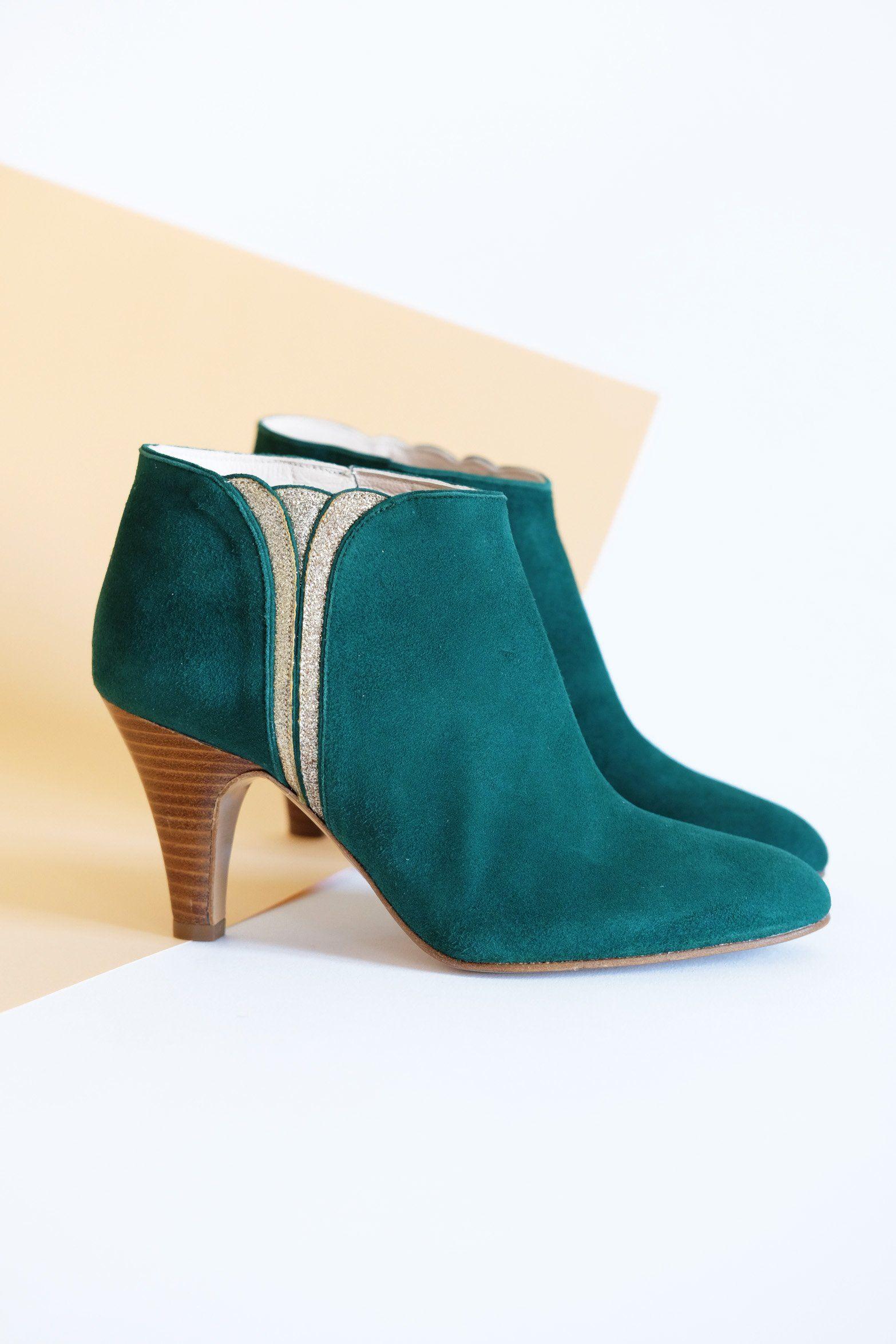 bonny Boots Sublime Evergreen Patricia Blanchet | Sapatos