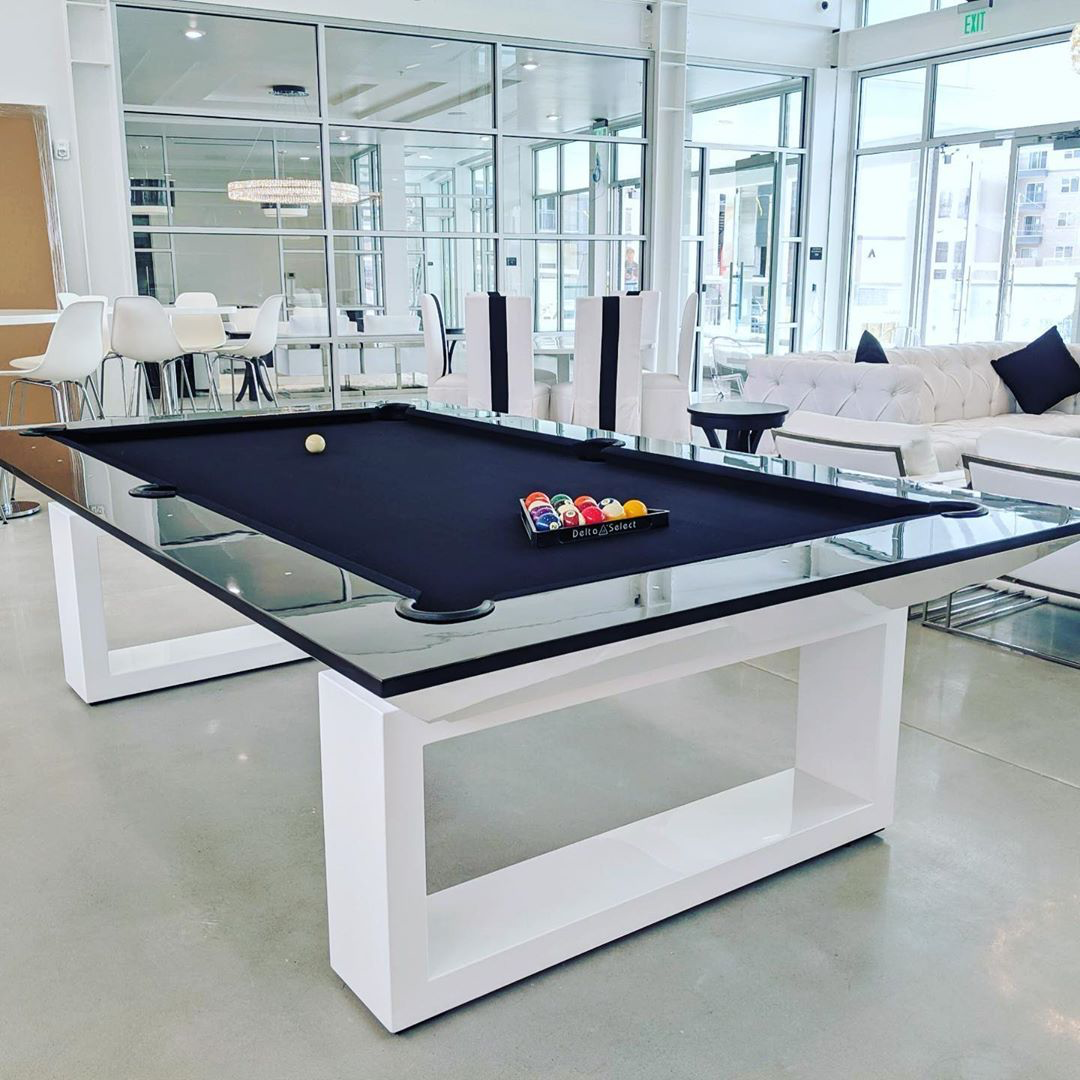 Mitchell Pool Tables Pooltables Modernpooltables Mitchellpooltables Dining Room Pool Table Pool Table Room Decor Pool Table Room