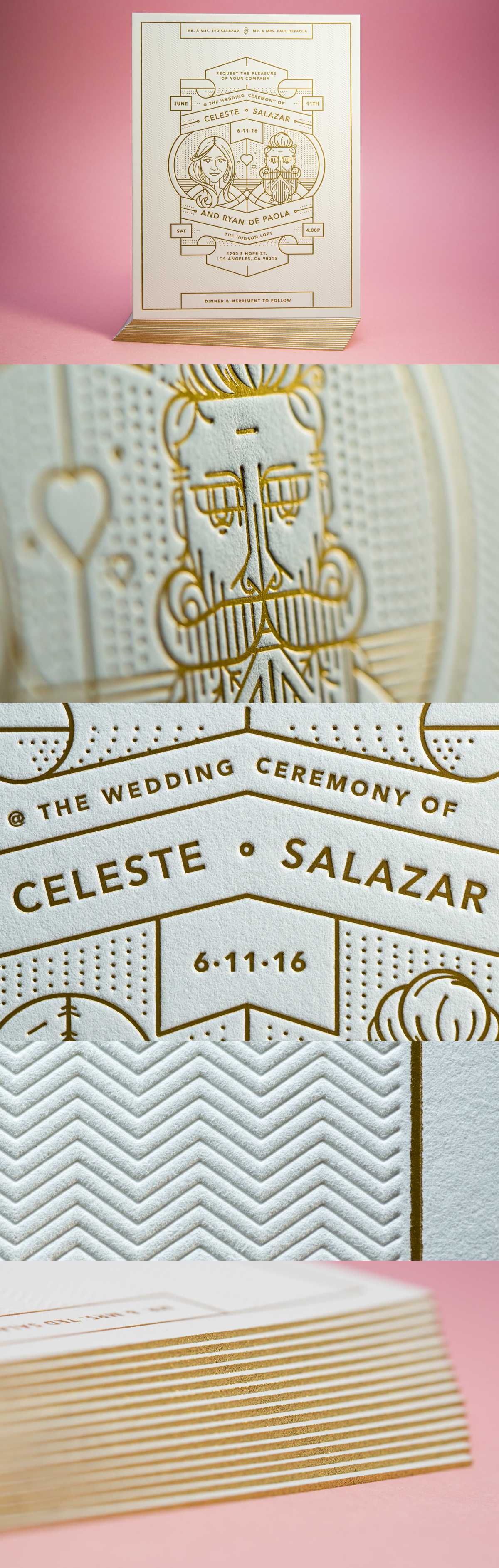 Love is in the Paper: 11 Beautiful Wedding Invitations | Invitation ...