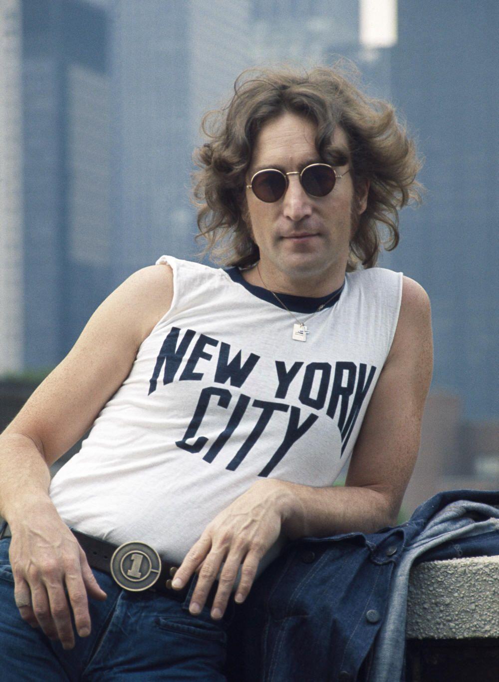 John Lennon s Famous New York City Shirt Shot  How an Iconic Portrait Began  With a Photographer s T-shirt 500241d8379