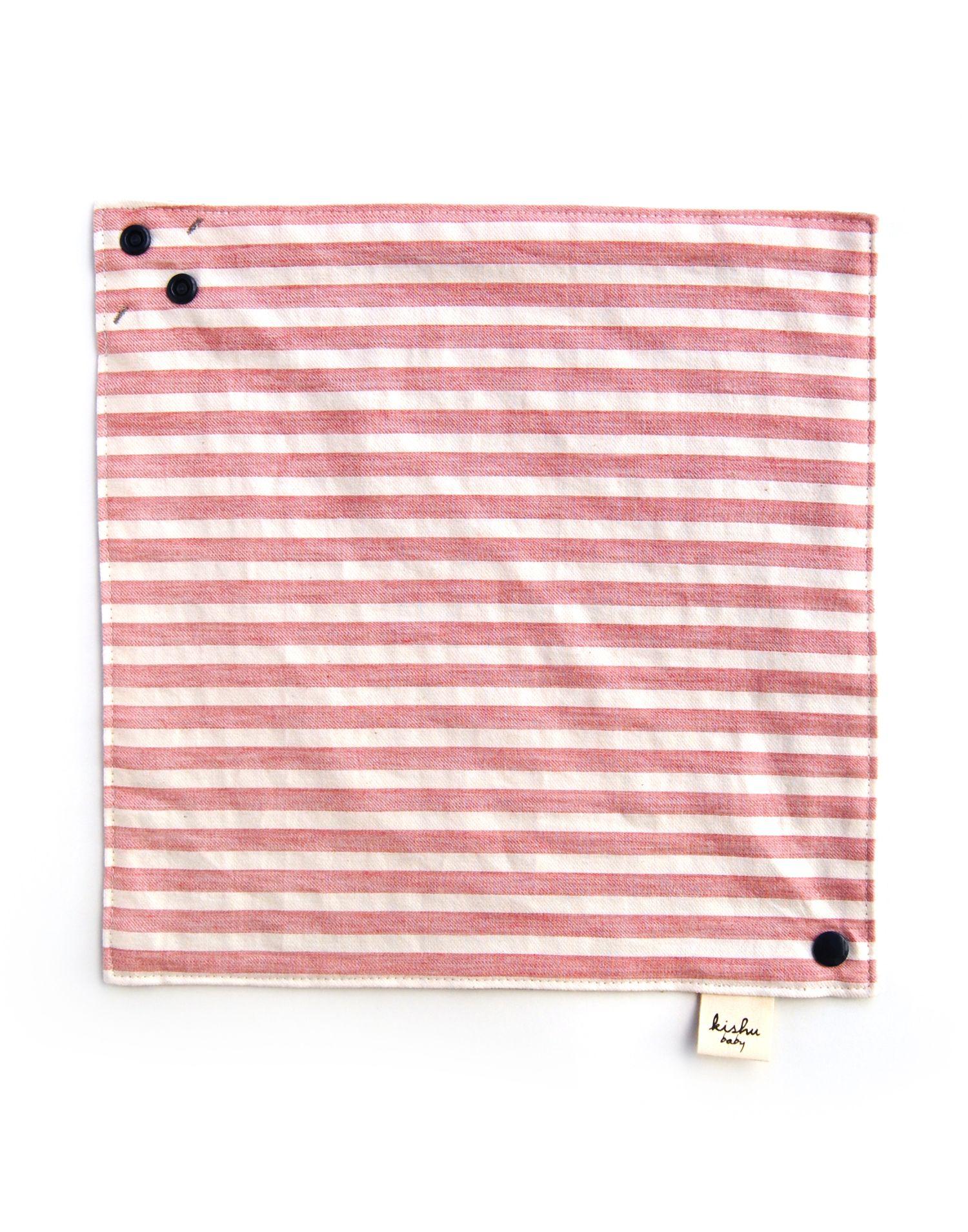 Organic Baby Bib | Americana Stripe | Reversible Bandana Bib ...