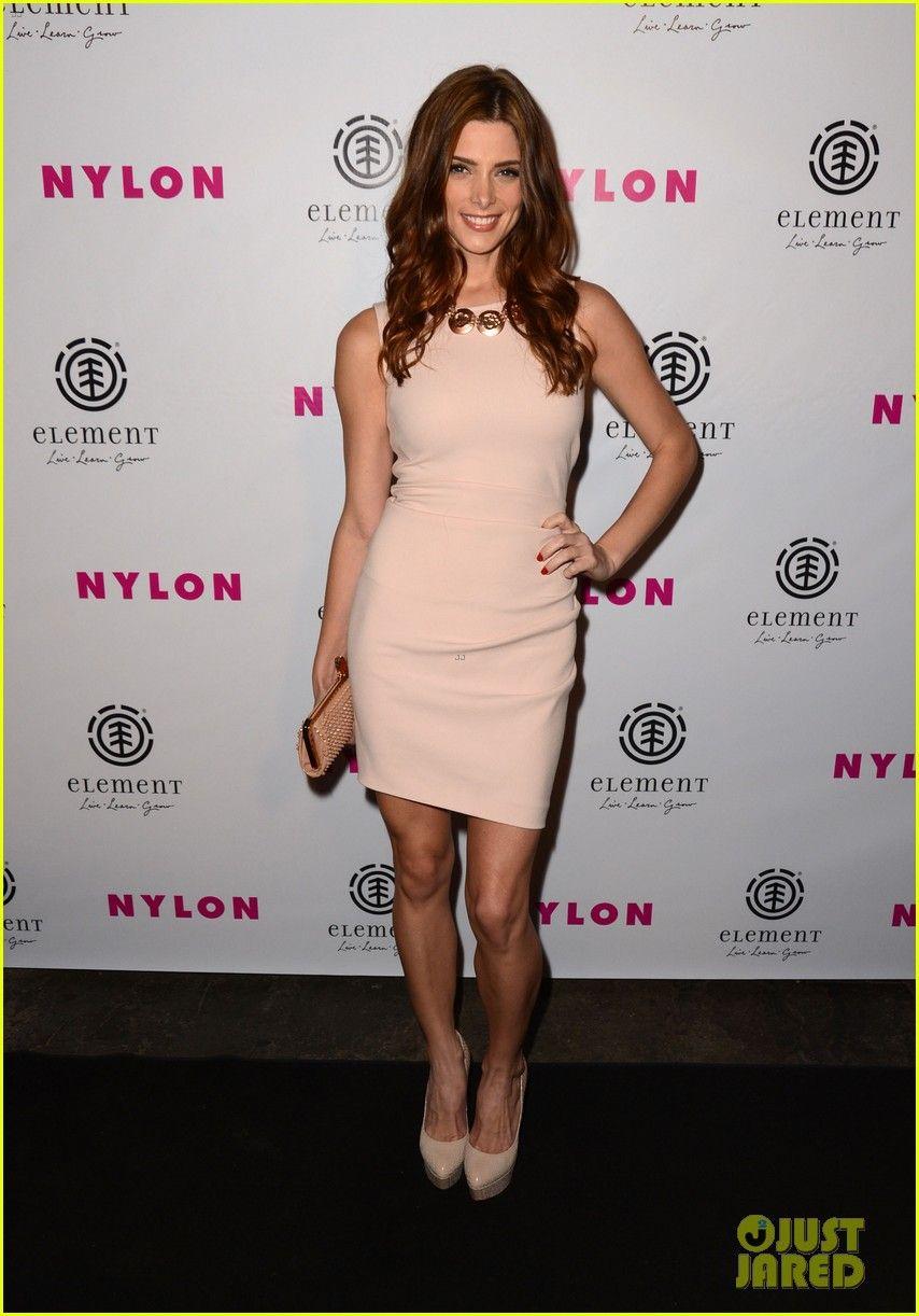 Ashley Greene: Nylon Cover Party!