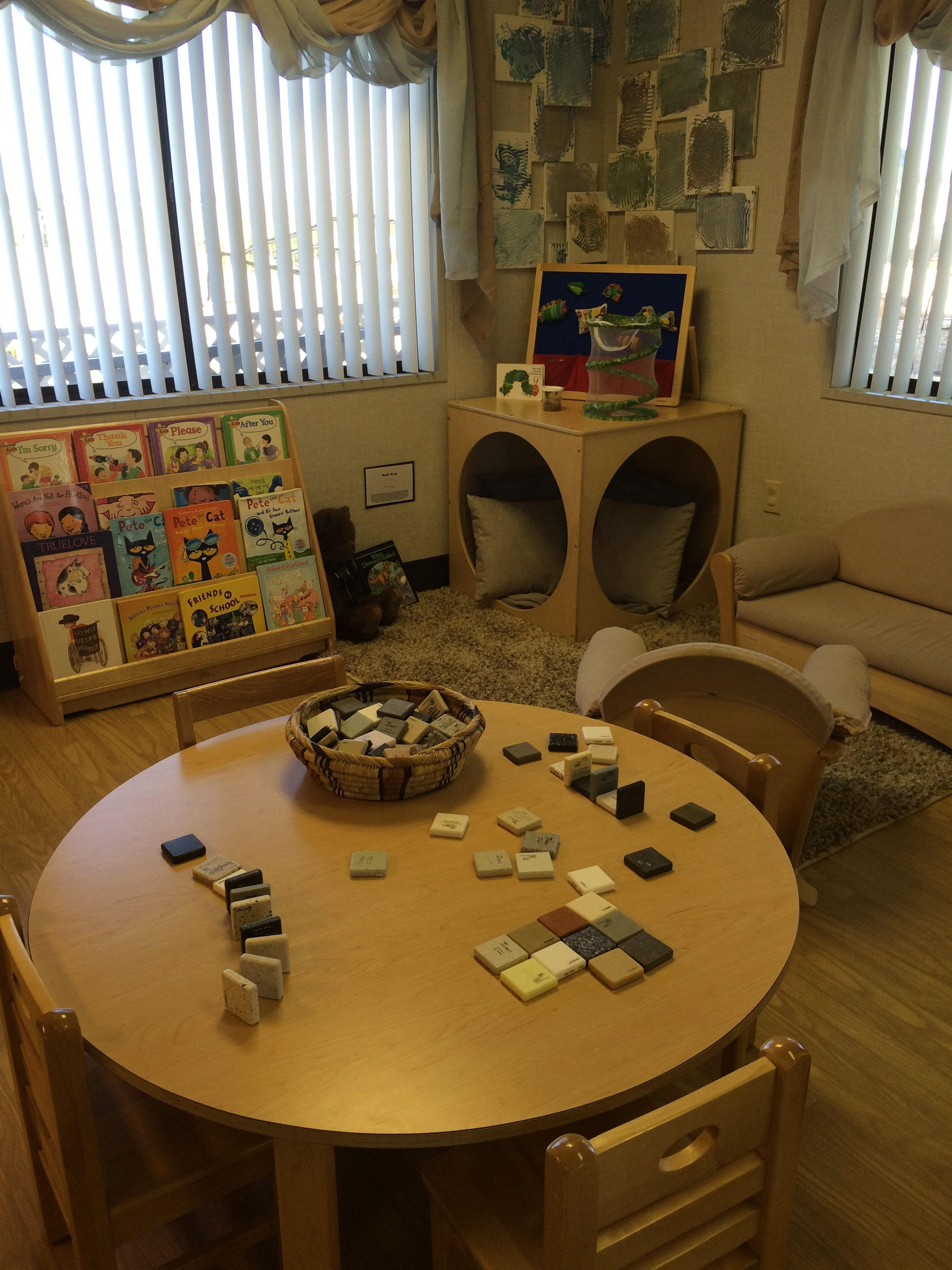 Cozy Area For Reading And Doing Small Group Activities At
