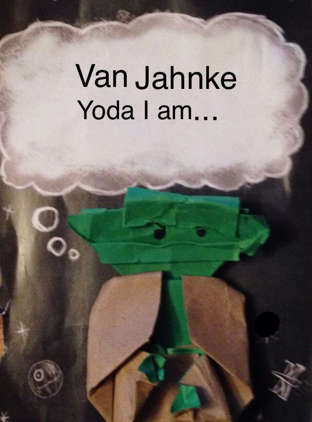 Van Jahnke Origami Yoda Folded And Photographed By Skylar S 11 Years Old