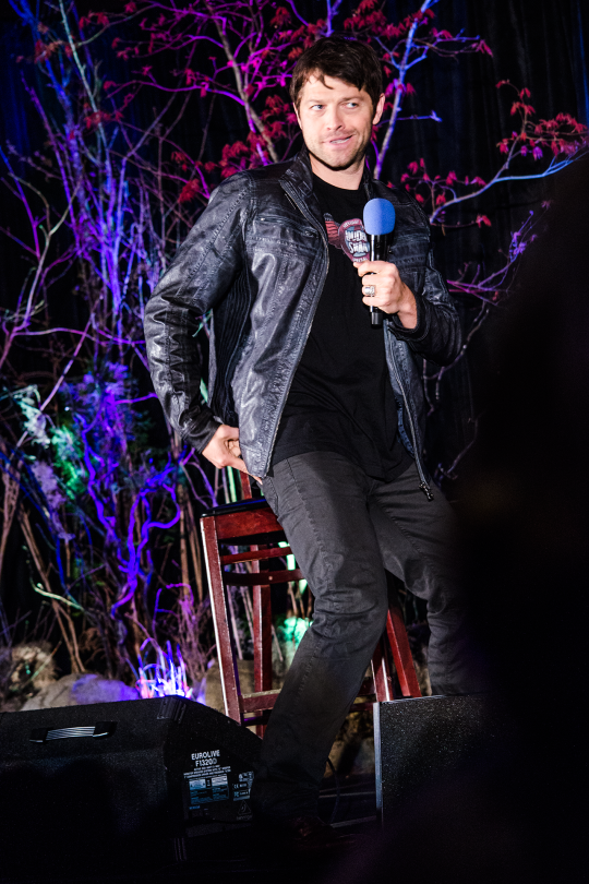 Yes Misha.. you are sizzling hot.. especially with that jacket.