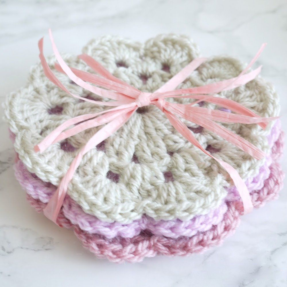Coaster Crochet Pattern | Bella Coco Store | Must Crochet | Pinterest