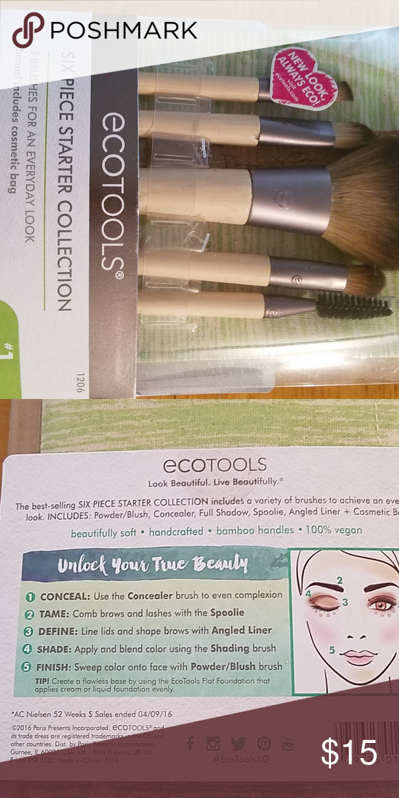 Eco tools six piece starter brush collection Ecotools